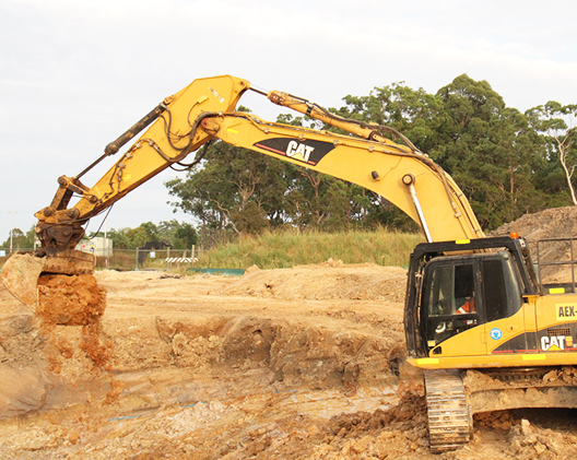 site excavator sage